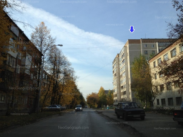 Address(es) on photo: Industrii street, 53, 55, 56а, Yekaterinburg