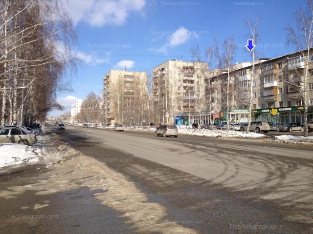 Address(es) on photo: Shaumyana street, 100, 102, 104, Yekaterinburg