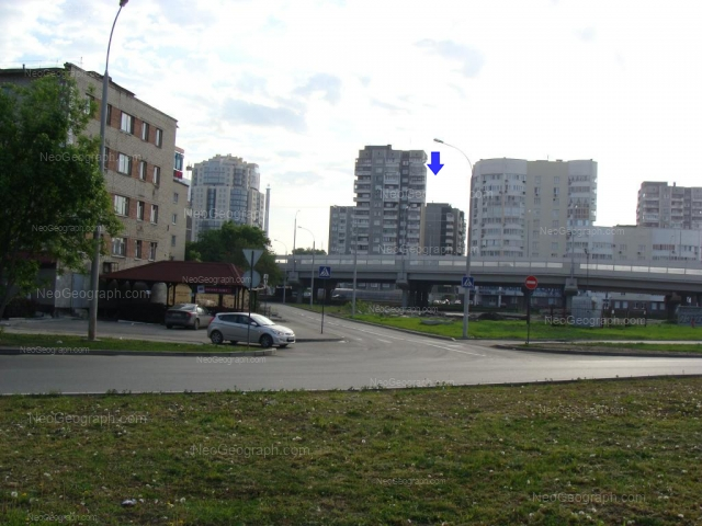 Address(es) on photo: Sheikmana street, 121, 128, 130, 134А, Yekaterinburg