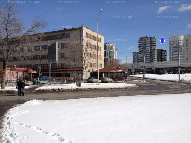 Address(es) on photo: Sheikmana street, 128, 130, 134А, Yekaterinburg