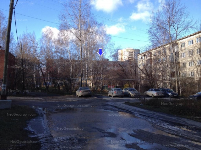 Address(es) on photo: Shaumyana street, 103/4, 105а, 107, Yekaterinburg