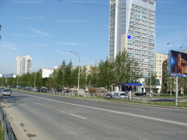 Адрес(а) на фотографии: улица Ткачей, 6, 8, 14, 16а, Екатеринбург