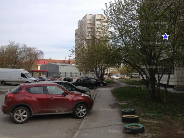 Адрес(а) на фотографии: Ясная улица, 22, 22А, 22Б, Екатеринбург