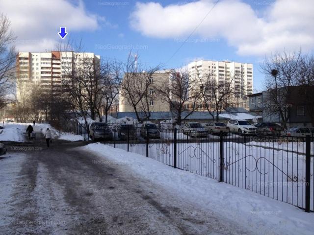 Адрес(а) на фотографии: Ясная улица, 20, 20б, 22, Екатеринбург