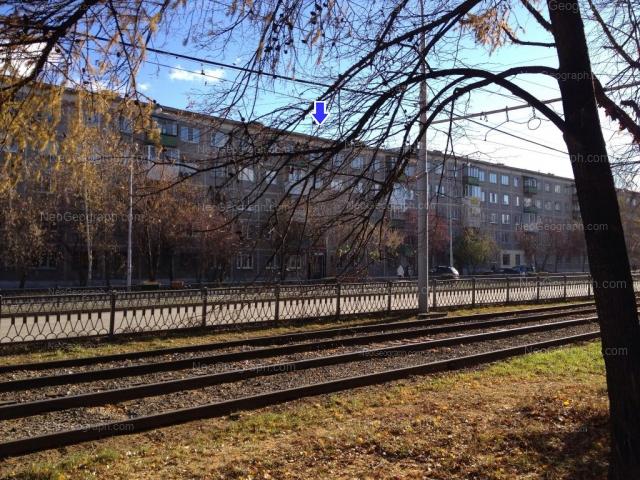 Вид на здание с адресом улица Белореченская, 23/1, Екатеринбург