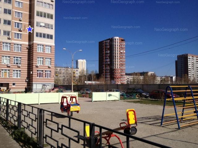 Адрес(а) на фотографии: Ясная улица, 30, 31, 32/1, 34/1, 36/1, Екатеринбург