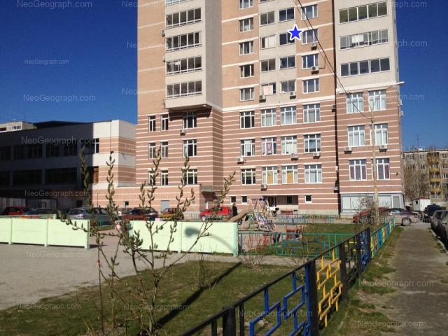 Адрес(а) на фотографии: Ясная улица, 31, 31а, Екатеринбург