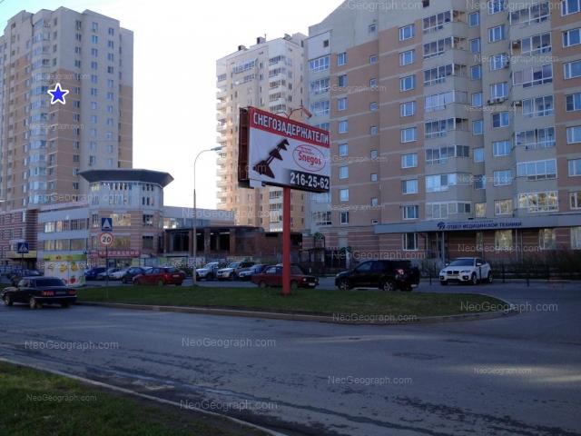 Адрес(а) на фотографии: Ясная улица, 31, 31а, 33, 35, Екатеринбург