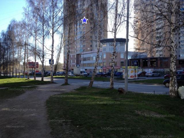 Адрес(а) на фотографии: Ясная улица, 31, 31а, 33, Екатеринбург