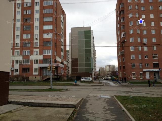 Адрес(а) на фотографии: улица Сурикова, 32, 40, 48, Екатеринбург