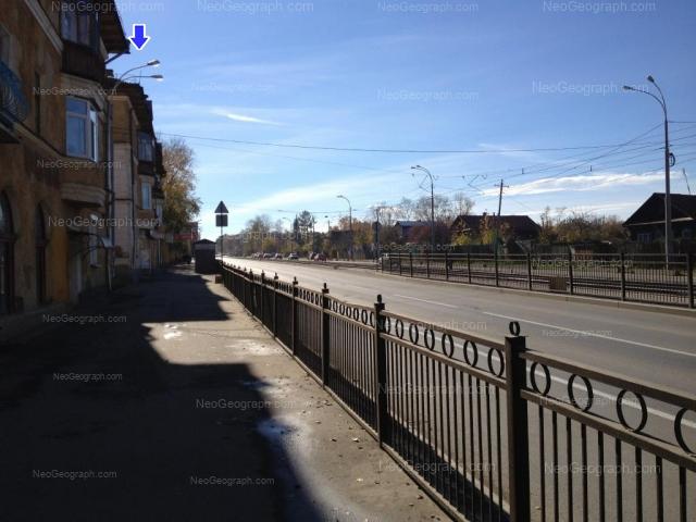 Адрес(а) на фотографии: улица Бакинских Комиссаров, 46, 48, Екатеринбург