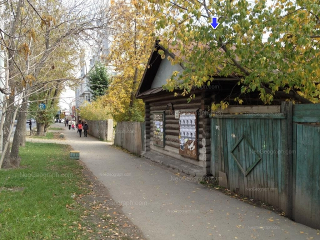 Адрес(а) на фотографии: улица Щорса, 35, 55, Екатеринбург