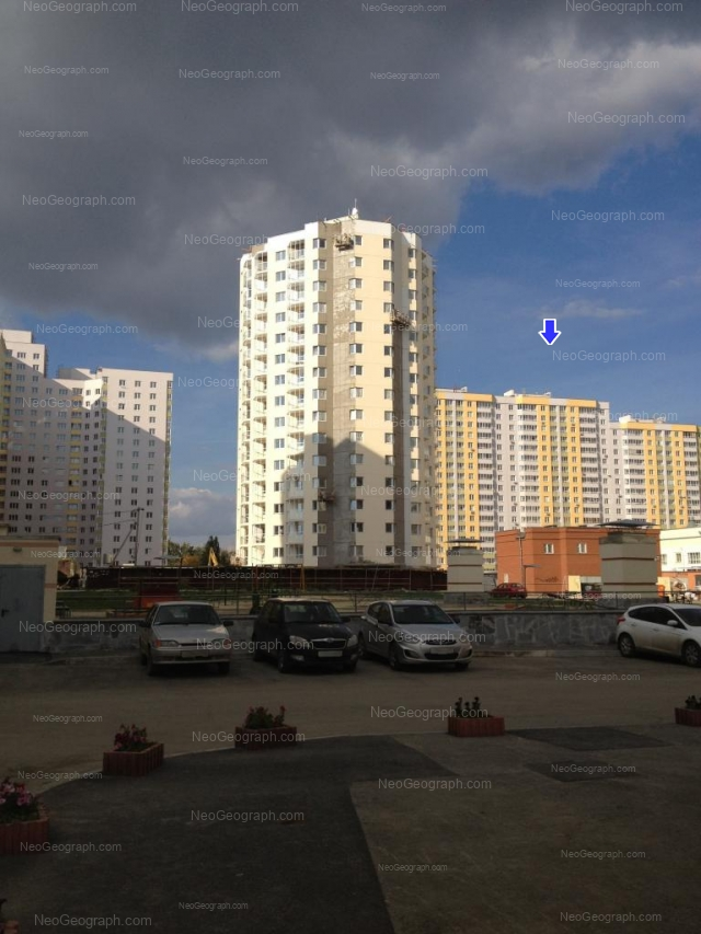 Адрес(а) на фотографии: улица Щорса, 103, 105, Екатеринбург