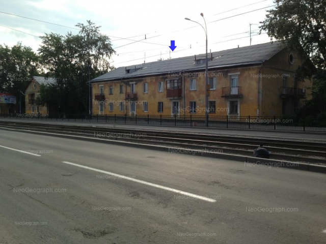 Адрес(а) на фотографии: улица Бакинских Комиссаров, 38, 40, Екатеринбург