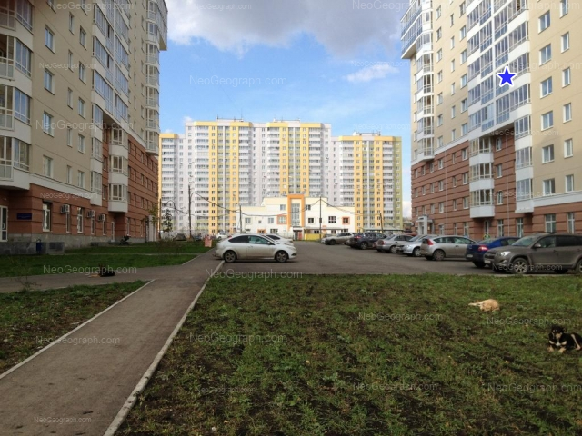 Адрес(а) на фотографии: улица Циолковского, 32, 34, Екатеринбург