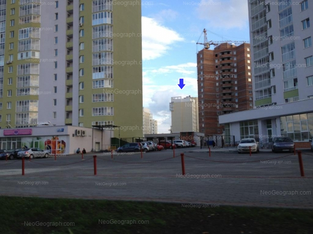 Адрес(а) на фотографии: улица Циолковского, 34, Екатеринбург