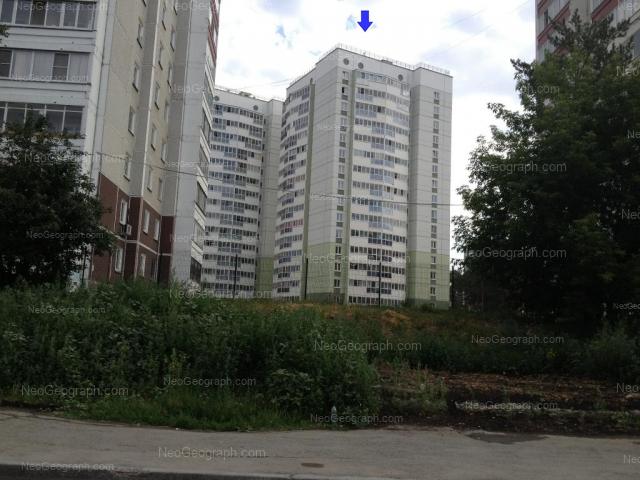 Address(es) on photo: Nachdiva Onufrieva street, 6/3, Yekaterinburg