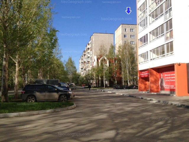 Адрес(а) на фотографии: улица Амундсена, 52, 54/1, 56, 56а, Екатеринбург