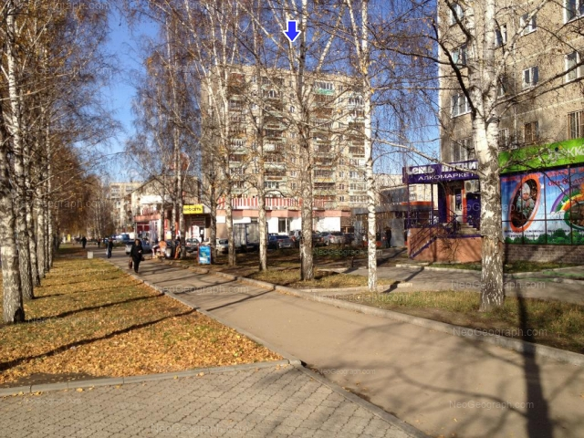 Address(es) on photo: Akademika Bardina street, 42, 48, Yekaterinburg