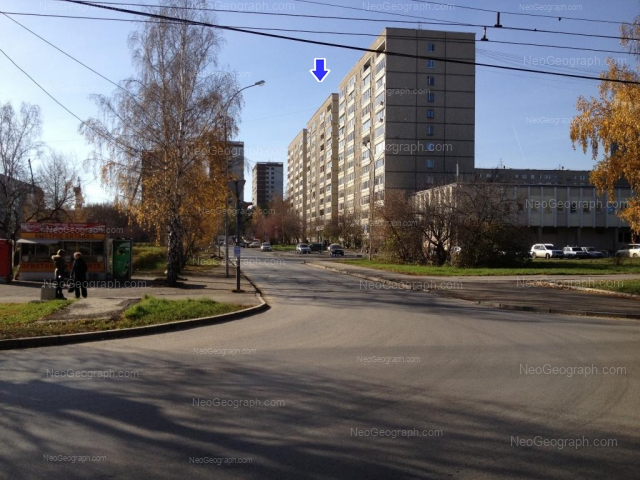 Адрес(а) на фотографии: проезд Решетникова, 2, 4, 6, 12, 14, Екатеринбург
