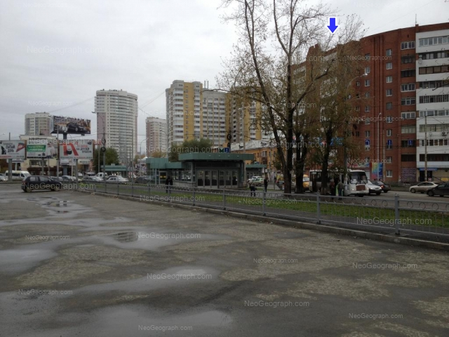 Address(es) on photo: Belinskogo street, 173, 175, 222, Yekaterinburg