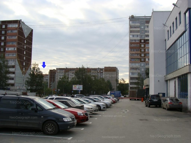 Адрес(а) на фотографии: бульвар Денисова-Уральского, 7, 9, 13, 16, Екатеринбург