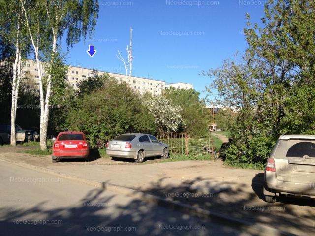 Address(es) on photo: Reshetnikova driveway, 7, 9, 22А, Yekaterinburg