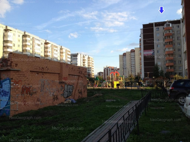 Address(es) on photo: Akademika Shvartsa street, 10 к3, Yekaterinburg