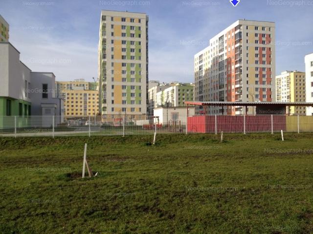 Address(es) on photo: Krasnolesiya street, 115, 119, 121, 127, 129, Yekaterinburg