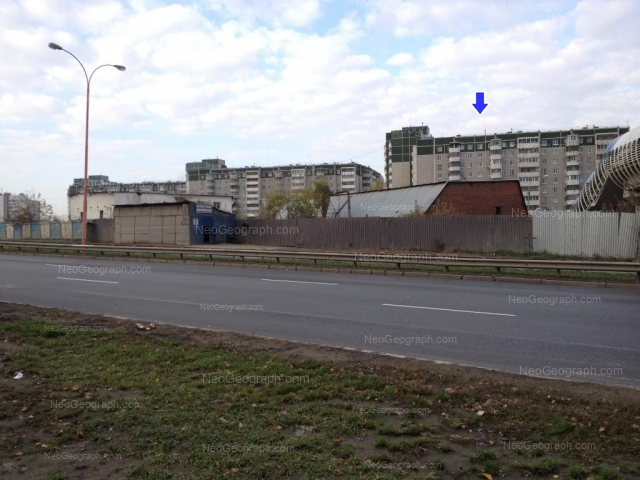 Адрес(а) на фотографии: улица Крестинского, 53, 55 к1, Екатеринбург