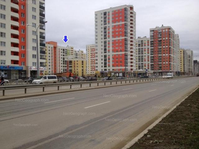 Адрес(а) на фотографии: улица Краснолесья, 109, 111, 113, 123, Екатеринбург