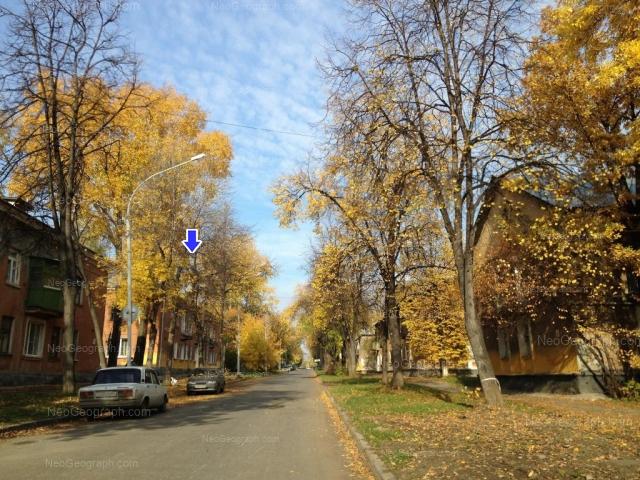 Address(es) on photo: Kalinina street, 66, 68, 69, 71, Yekaterinburg