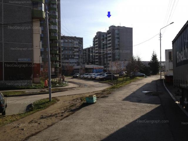 Address(es) on photo: Krestinskogo street, 25, 25А, 27, 31, Yekaterinburg