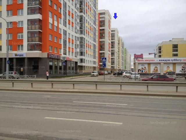 Адрес(а) на фотографии: улица Краснолесья, 97, 99, 101, 109А, Екатеринбург