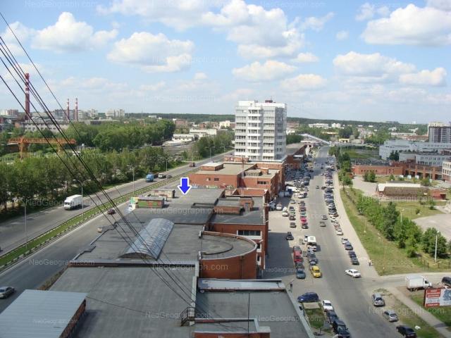Address(es) on photo: Krestinskogo street, 39, 41, 42, 44, 46, 46/5, 46/5б, Yekaterinburg