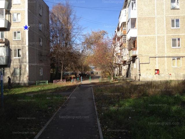 Address(es) on photo: Patriotov street, 10, 12, Yekaterinburg
