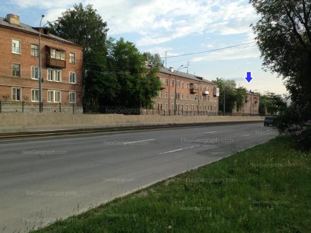 Адрес(а) на фотографии: улица Бакинских Комиссаров, 15, 19, 23, Екатеринбург