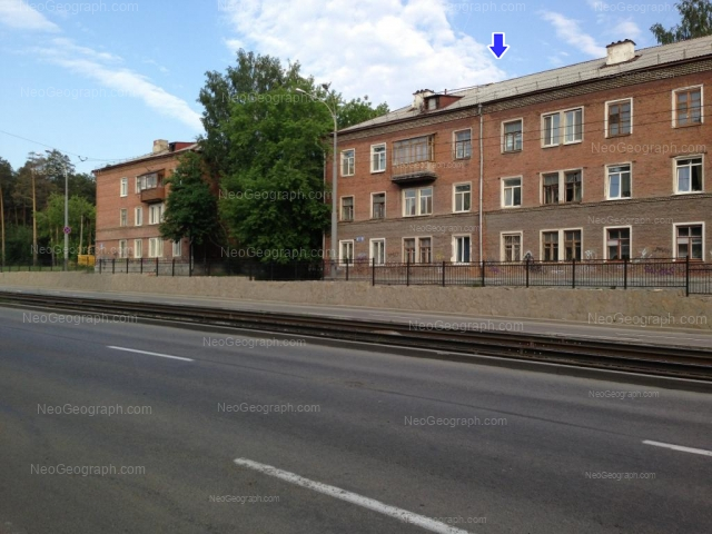 Адрес(а) на фотографии: улица Бакинских Комиссаров, 15, 19, Екатеринбург