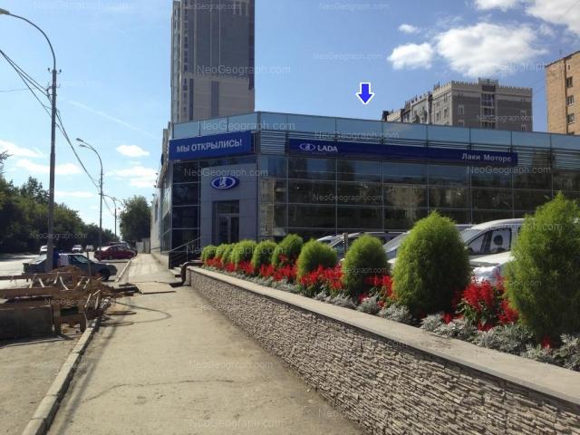 Адрес(а) на фотографии: Селькоровская улица, 22, 36, Екатеринбург