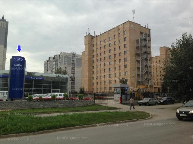 Адрес(а) на фотографии: Селькоровская улица, 22, 34, Екатеринбург