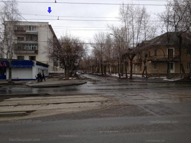 Address(es) on photo: Starikh Bolshevikov street, 34, 36, Yekaterinburg