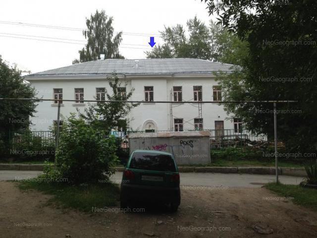 Address(es) on photo: Entusiastov street, 35А, Yekaterinburg