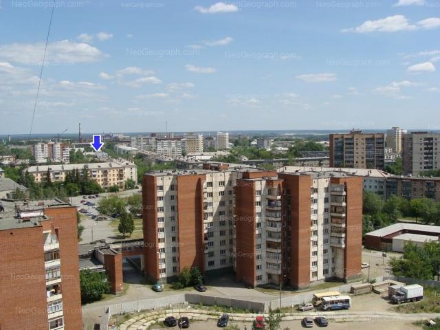 Address(es) on photo: Uglovoy lane, 2, Yekaterinburg