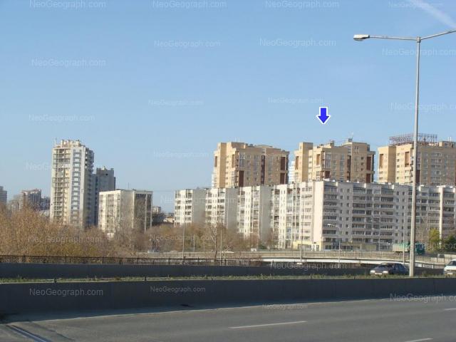 Адрес(а) на фотографии: Онежская улица, 4а, 6а, 8а, 12, Екатеринбург