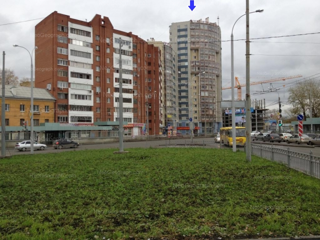 Address(es) on photo: Belinskogo street, 173, 175, 177, Yekaterinburg