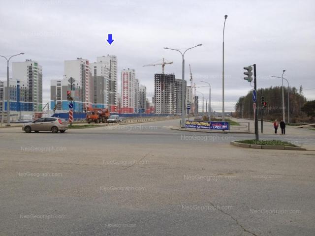 Address(es) on photo: Krasnolesiya street, 137, 139, 145, 151, Yekaterinburg