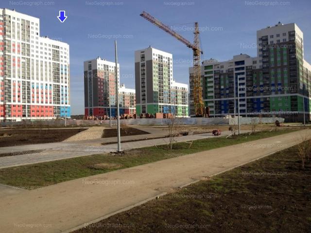 Address(es) on photo: Krasnolesiya street, 137, 139, 141, 145, Yekaterinburg