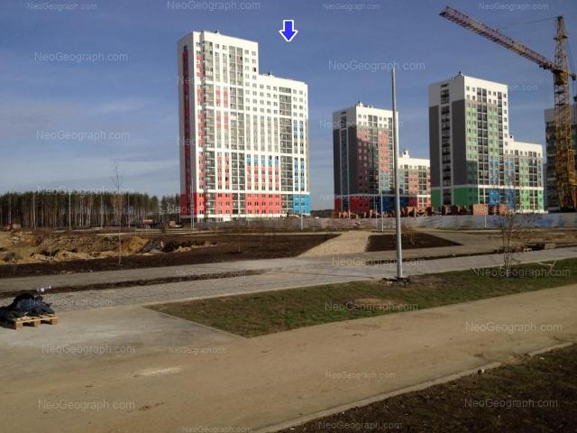 Address(es) on photo: Krasnolesiya street, 137, 139, 145, Yekaterinburg