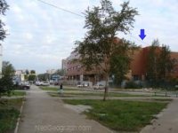 На фотографии — вид на ЭкоМолл Гранат со стороны бульвара Денисова-Уральского, Екатеринбург, Россия - Неогеограф
