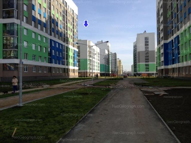 Address(es) on photo: Vilgelma de Gennina street, 32, 36, 40, Yekaterinburg